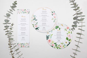 menu cards category homepage - Home