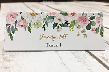 placecards escort cards category homepage - Home