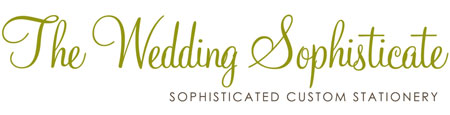 The Wedding Sophisticate - Wedding Programs & Invitations